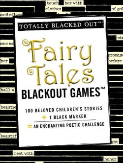 Totally Blacked Out Fairy Tales Blackout Games (Paperback)