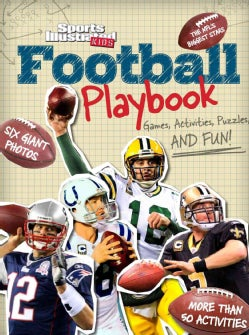 Sports Illustrated Kids Football Playbook: Games, Activities, Puzzles, and Fun! (Paperback)