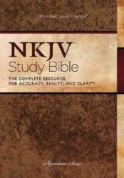NKJV Study Bible (Hardcover)