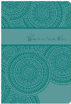 The Woman's Study Bible: King James Version, Peacock Blue, Signature Series (Paperback)