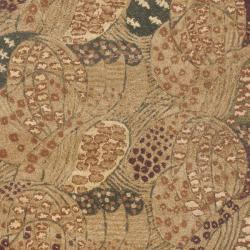 Safavieh Handmade New Zealand Wool Moments Beige Rug (3'6 x 5'6)