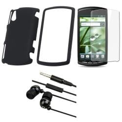 Sony Ericsson Xperia Play R800i 3-piece Case, Protector, and Headset