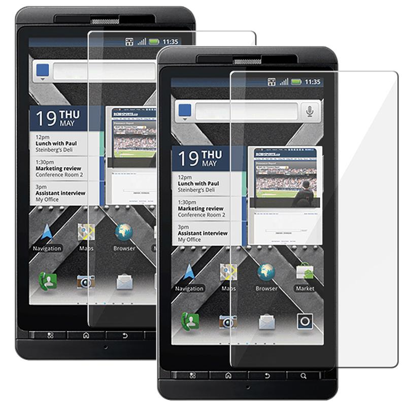 Motorola Droid X2 Daytona LCD Screen Protector (Pack of 2)