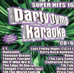 Various - Party Tyme Karaoke: Super Hits 16