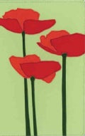 Holy Bible: New International Version, Red Poppies Italian Duo-Tone Bloom Collection Bible (Paperback)