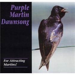 Purple Martin Conservation Products Dawn Song CD