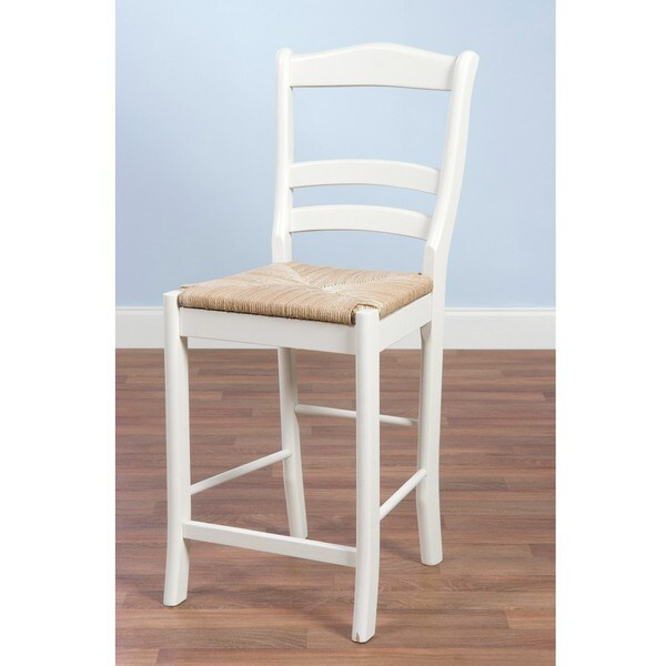Simple Living Rubber Wood 30 Inch Parker Stool 13743945