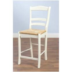 Simple Living Rubber Wood 24-inch Parker Stool