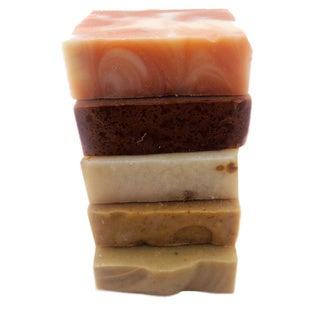 The Natural Handmade Soaps Gift Set (Set of 5)