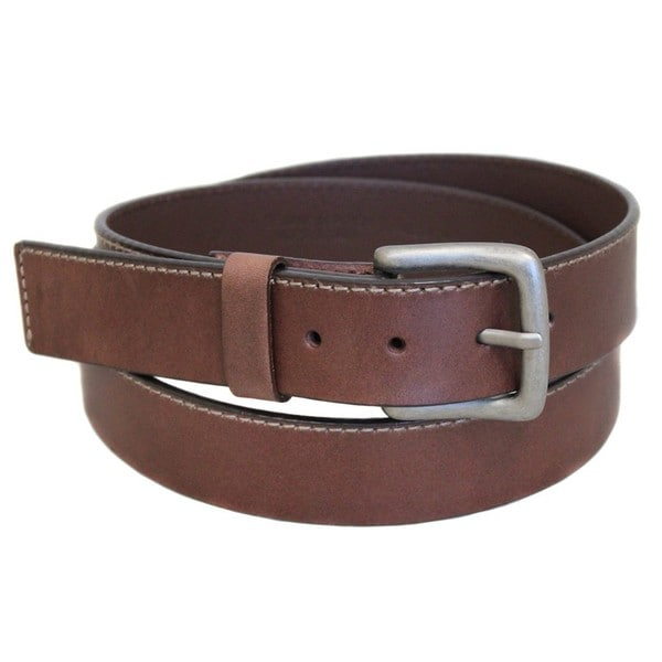 Entourage Casual Men's Brown Leather Belt