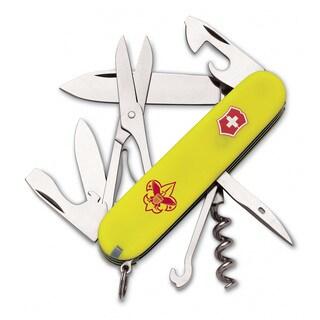 Victorinox Swiss Army Climber Stay Glow Boy Scout Pocket Knife