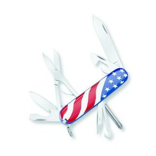 Victorinox Swiss Army Super Tinker U.S. Flag Pocket Knife