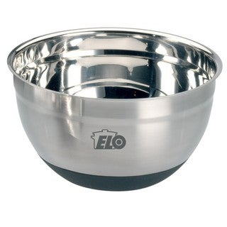 Elo 5-quart Nonslip Stainless Steel and Silicon Rubber Mixing Bowl