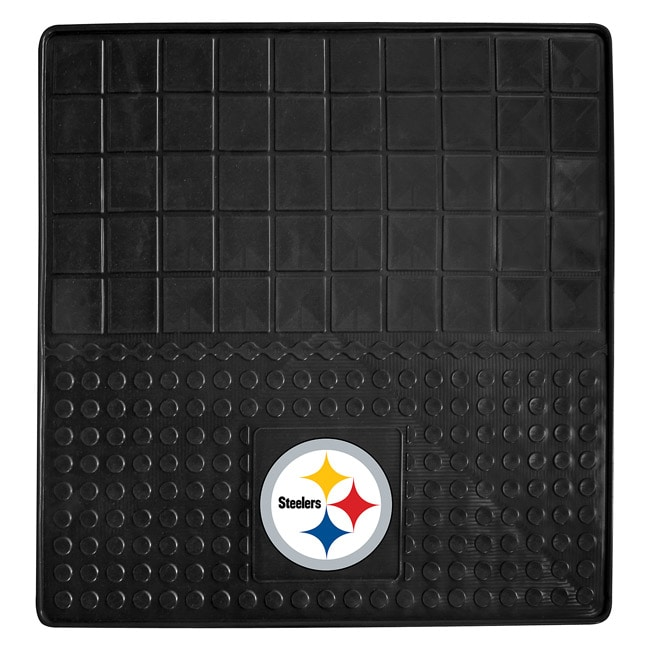 Fanmats Pittsburgh Steelers Heavy Duty Vinyl Cargo Mat