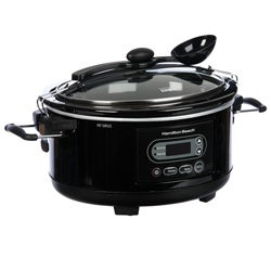 Hamilton Beach 33957 Stay or Go 5-quart Programmable Slow Cooker