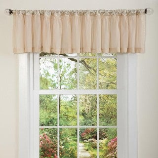 Lush Decor Neutral Cozette Valance