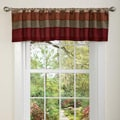 Lush Decor Red/ Gold Iman Valance