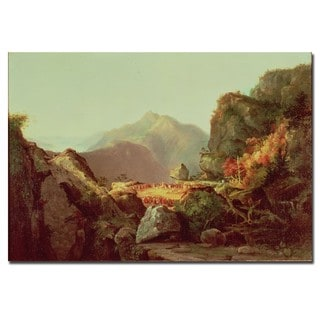 James Cooper 'The Last of the Mohicans' Canvas Art