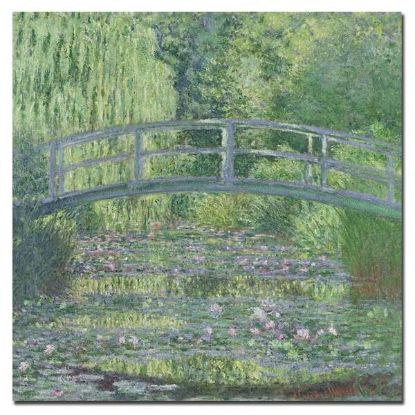 Claude Monet 'The Waterlily Pond 1899' Canvas Art