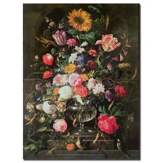 Cornelis De Heem 'Still Life' Gallery-Wrapped Canvas Art