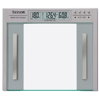 Taylor High Capacity Wide Glass Body Composition Scale