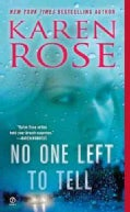 No One Left to Tell (Paperback)