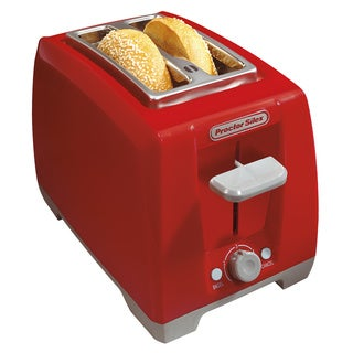 Proctor Silex Cool Touch Red 2-slice Wide Slot Toaster