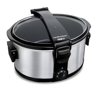 Hamilton Beach 33472 Stay or Go 7-quart Portable Slow Cooker