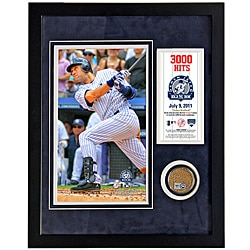 Steiner Sports Derek Jeter 3,000th Hit Mini Dirt Collage