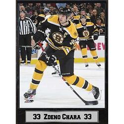 Boston Bruins Zdeno Chara 9x12-inch Photo Plaque