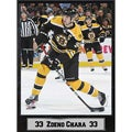 Boston Bruins Zdeno Chara 9x12-inch Photo Plaque