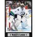 Vancouver Canucks, Roberto Luongo 9x12-inch Photo Plaque