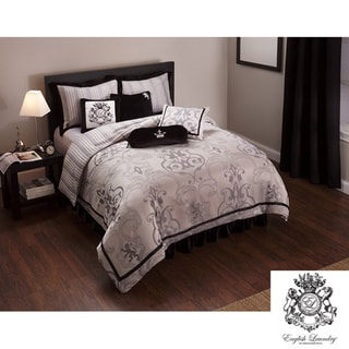 English Laundry Ashton King-size 3-piece Duvet Cover Set