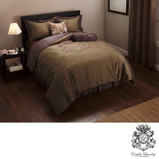English Laundry Cheadle Queen-size 3-piece Duvet Cover Set