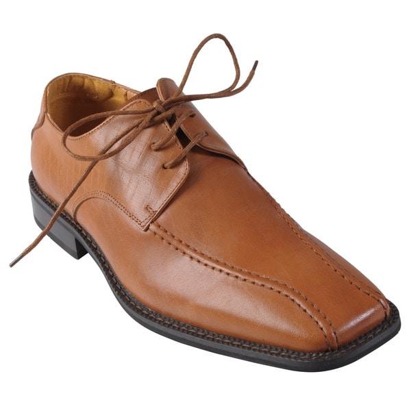 Boston Traveler Executive Collection Men's Leather Oxfords