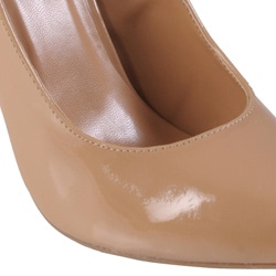 Journee Collection Women's 'Lips' Patent Formal Pumps