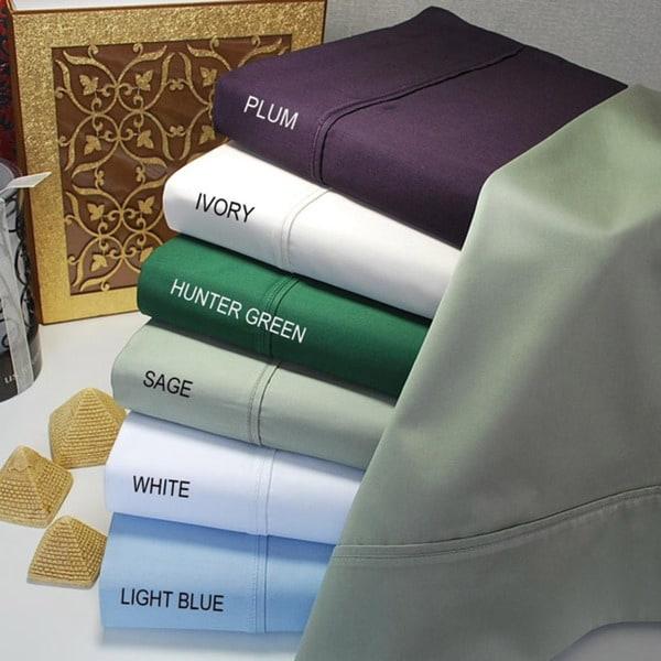 Egyptian Cotton 400 Thread Count Pillowcases (Set of 2)