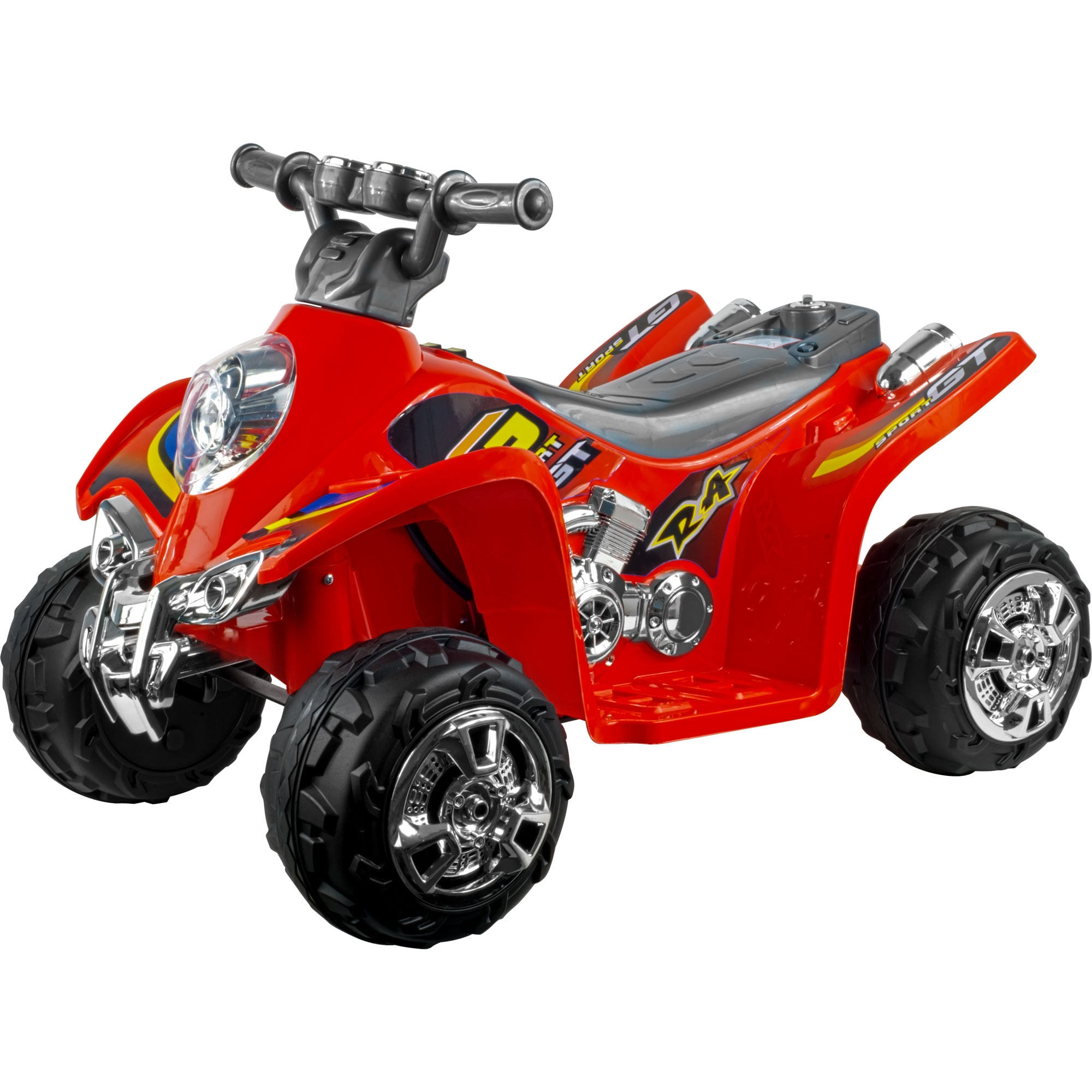 Lil' Rider Ruckus Sport GT Battery Operated ATV Ride-on
