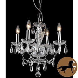 Christopher Knight Home Crystal 57179 4-light Chandelier