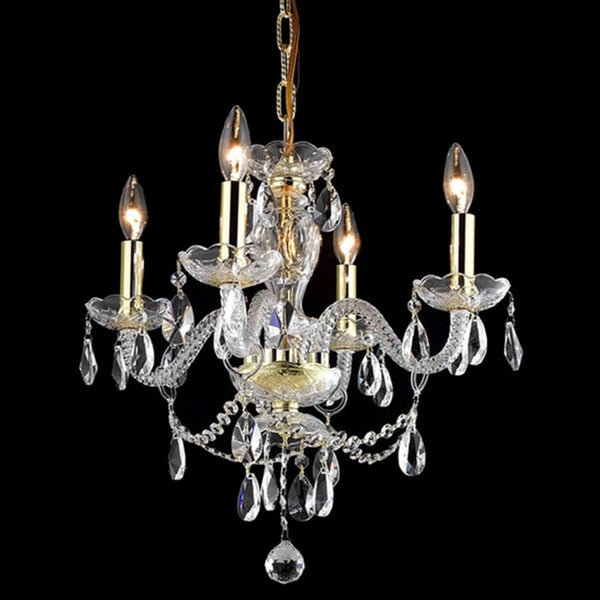 Somette Crystal 57162 4-light Chandelier