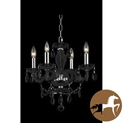 Christopher Knight Home Crystal 64900 Collection 4-light Chandelier