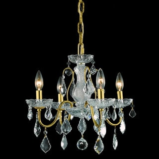 Christopher Knight Home Crystal 64856 4-light Chandelier
