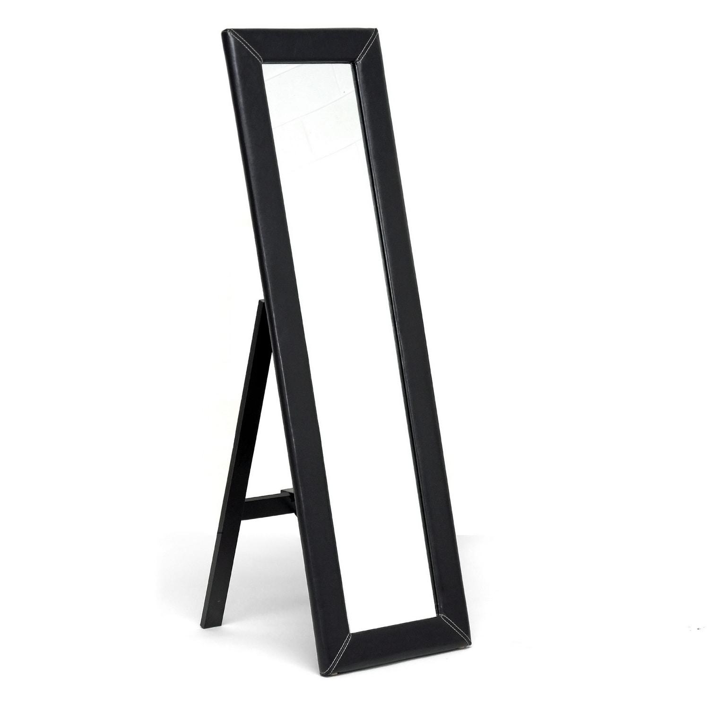 McLean Dark Brown Modern Mirror