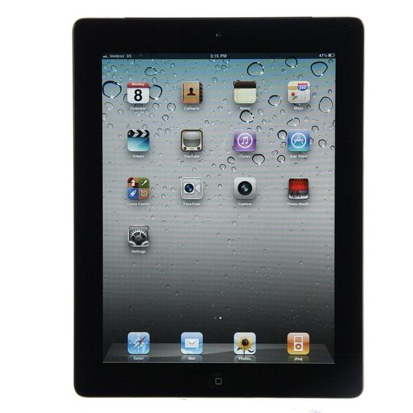 Apple iPad 2 Tablet 16GB Wi-Fi + 3G Verizon (Refurbished)