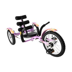 Mobo Mobito Purple 16-inch Ultimate 3-wheeled Cruiser