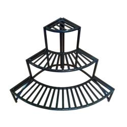 Folding Corner Three-layer Plant Stand