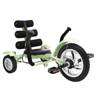 Mobo Mini Green 12-inch Luxury 3-wheeled Cruiser