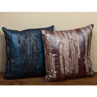 Shimmer Waterfall Decorative Throw Pillows (Set of 2)
