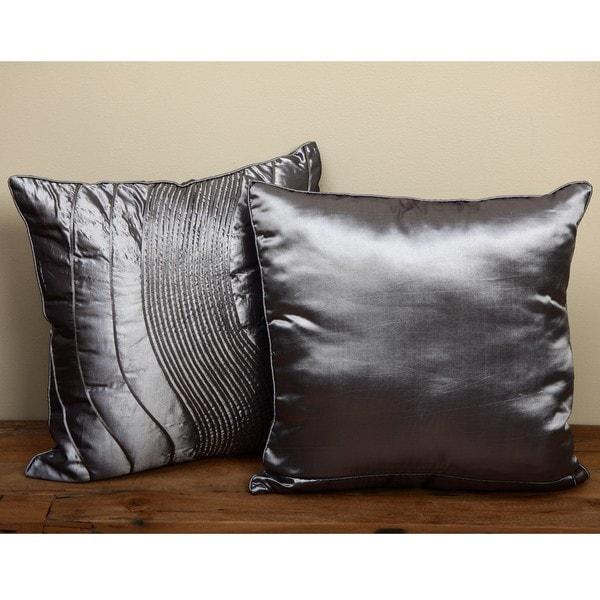 Wave Cord Decorative Throw Pillows (Set of 2)