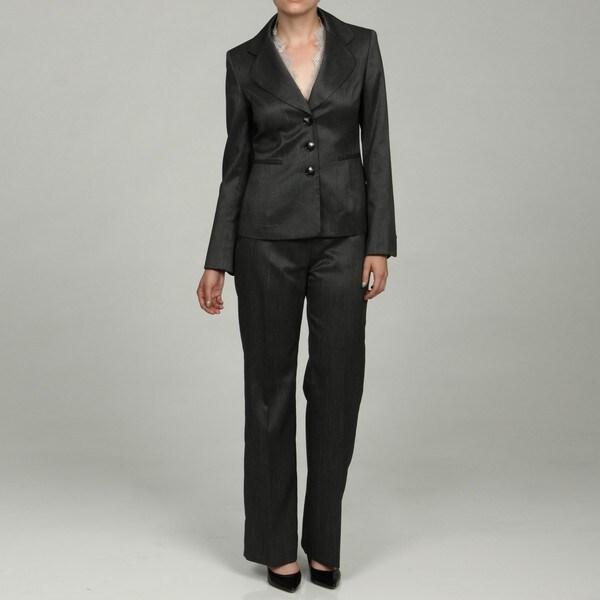 Kasper Women's 2-piece Lace Pant Suit